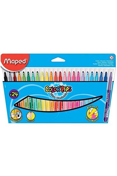 Maped Color Peps Keçe Kalem 24 Renk (845022LM)