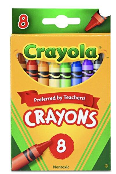 Crayola 8'li Kuru Boya Seti