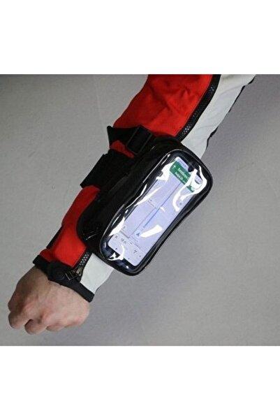 Kastel Motosiklet Kola Takılan Çantalı Telefon Tutucu