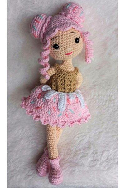 TOYSCİTY Pembe Cupcake Bebek Organik Oyuncak