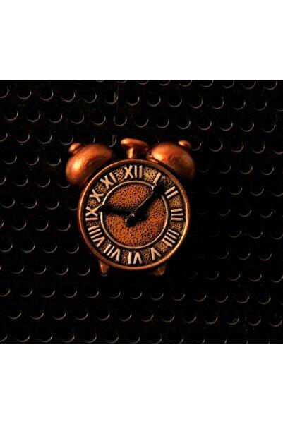 By Zincir Dekoratif Buzdolabı Magneti - Nostaljik Çalar Saat
