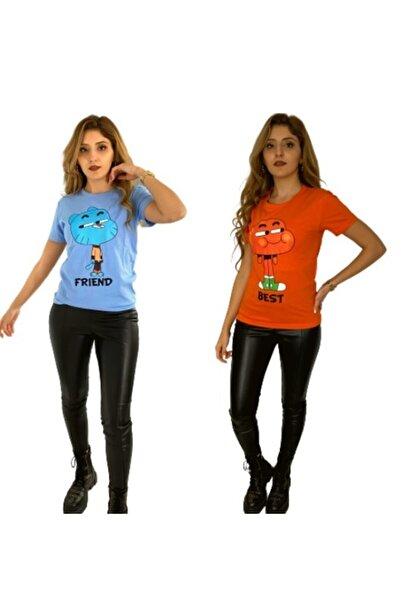 Orçun Özkarlıklı Best Friends Gumball Darwin Tişört