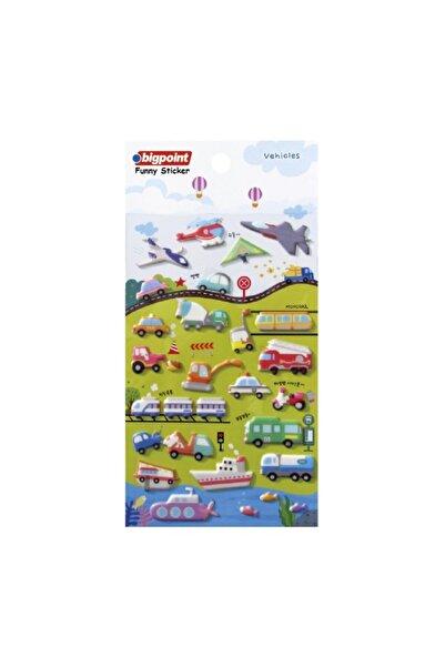Bigpoint Sticker Karışık Araçlar 15'li Paket