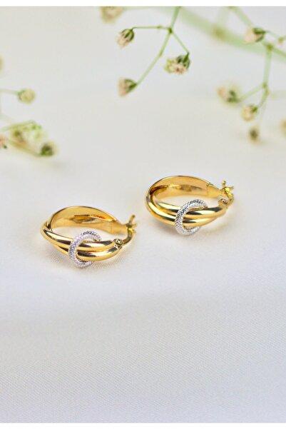 Rie Lie Gold and Jewelry Modern Tasarım Küpe