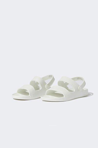 DeFacto Kız Çocuk Çift Bantlı Sandalet