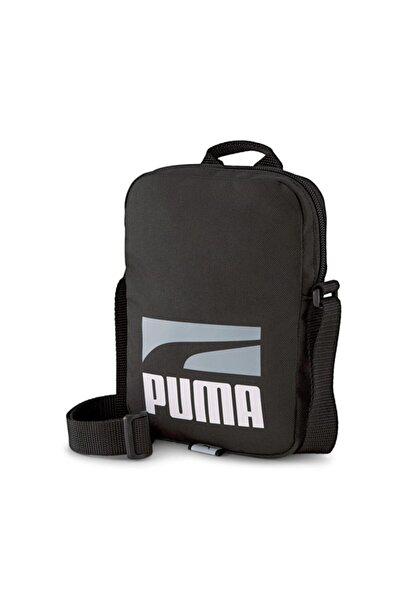 Puma Plus Portable Iı Unisex Siyah Omuz Çantası - 07839201