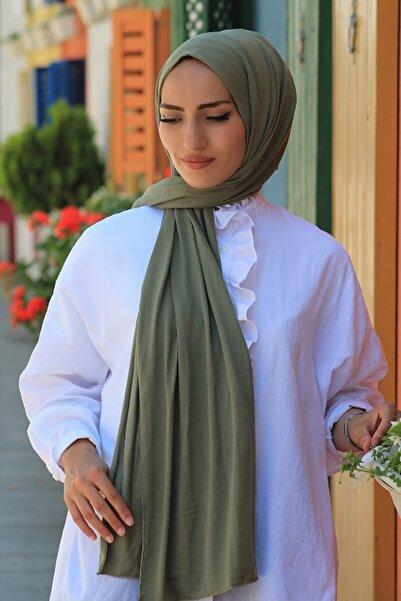 KETEN OFFİCİAL Kadın Çağla Yeşili Penye Şal