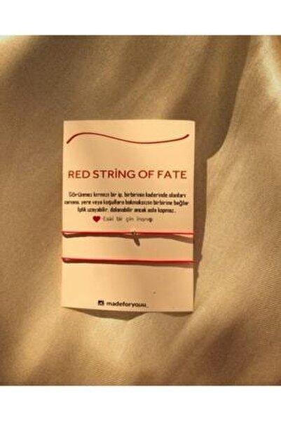 Red String Of Fate Çift Bileklikleri