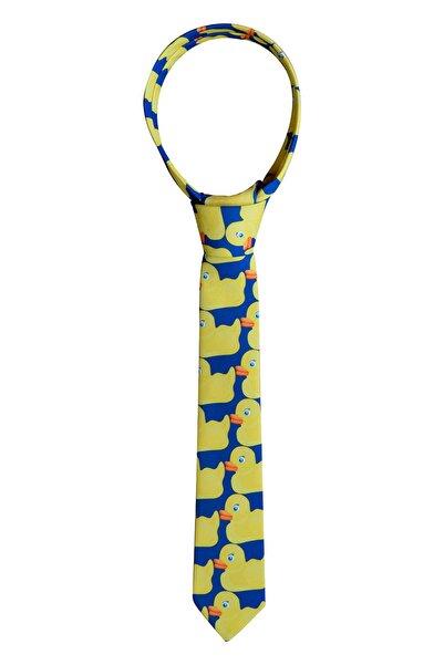 YABS Casual Hımym Barney Ördekli Kravat Duck Tie