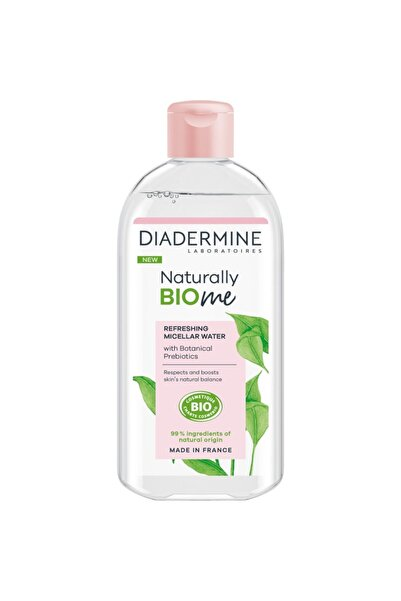 Diadermine Naturally Bio Me Canlandırıcı Micellar Makyaj Temizleme Suyu 400 Ml