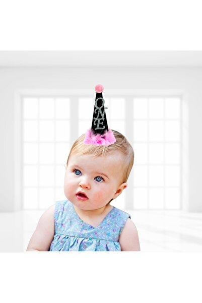 Süsle Baby Party Pembe 1 Yaş Ponponlu One Kukuleta, 14cm X 6cm