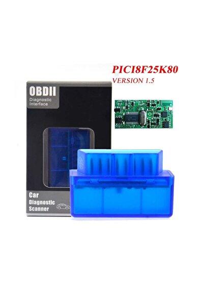 OBD 1.5 V Elm327 Bluetooth Pıc18f25k80 Renault Peyren-ddt4all-dtcfix-torque Pro