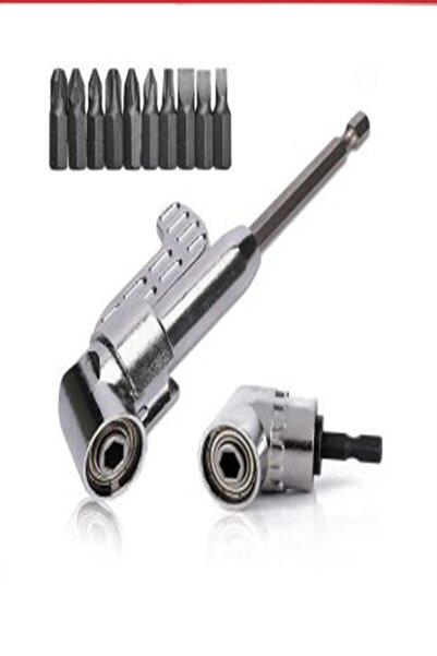 Yu Su Tools 12 Parça Köşe Vidalama Seti Orjinal Ürün Kaliteli Köşe Sıkma Köşe Vidalama