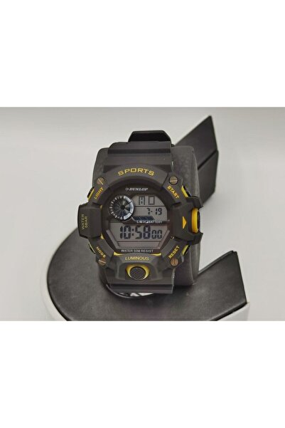 DUNLOP Erkek Siyah Saat Dun-340-g11