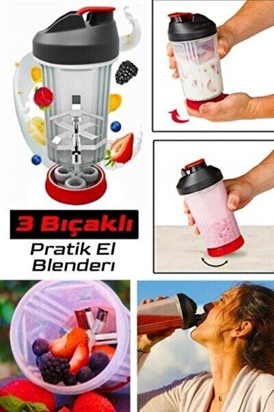 Vip Home Concept Market Ürünleri Pratik El Blenderı Manuel Elektriksiz Vip Doğrayıcı Kamp Sporcu Smoothie Uyumlu