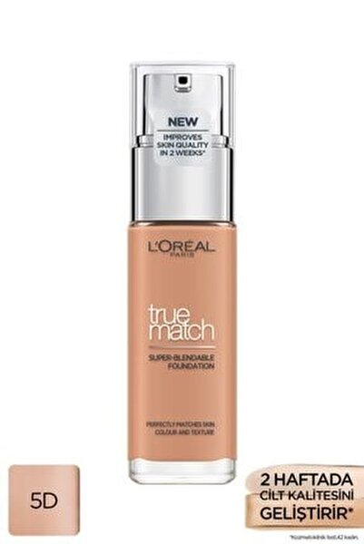 L'oréal Paris True Match Bakım Yapan Fondöten 5d Golden Sand