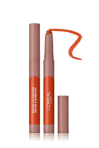 L'Oreal Paris Infaillible Matte Lip Crayon Kalem Mat Ruj - 106 Mon Cinnamon