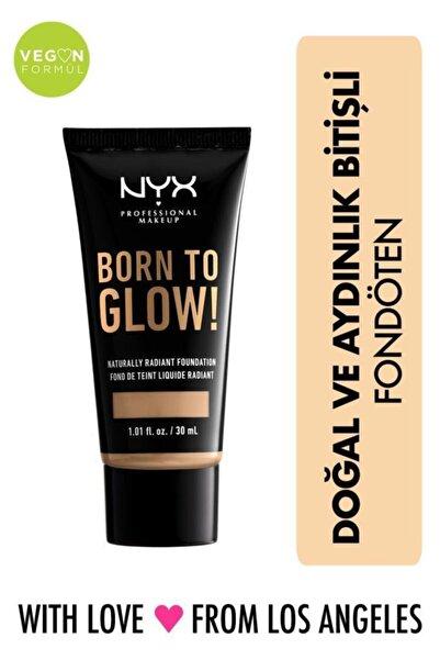 NYX Professional Makeup Fondöten - Born To Glow! Naturally Radiant Foundation 10 Buff 800897190415