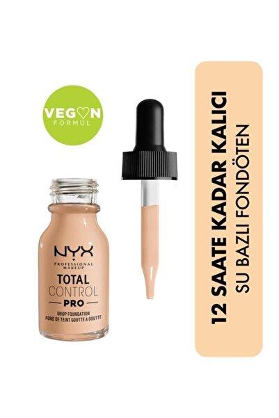 NYX Professional Makeup Total Control Pro Drop Foundation Vanilla - Fondöten