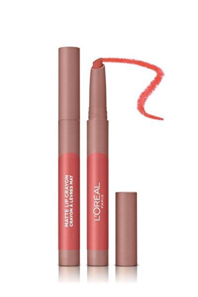 L'Oreal Paris Infaillible Matte Lip Crayon Kalem Mat Ruj - 105 Sweet and Salty