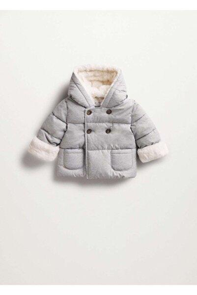 MANGO Baby Suni Kürk Astarlı Ceket