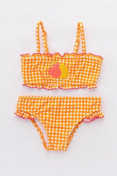 Penti Çok Renkli Kız Çocuk Sweet Fruit Bikini Takımı