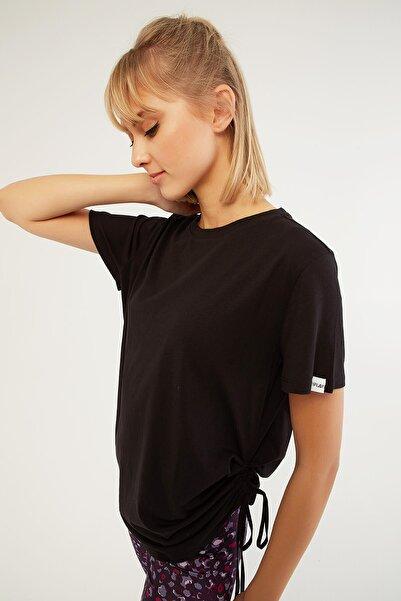 iplay I Play Büzgülü T-shirt Siyah