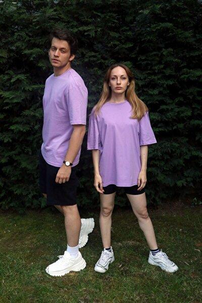 Penyem Unisex Lila Oversize T-shirt