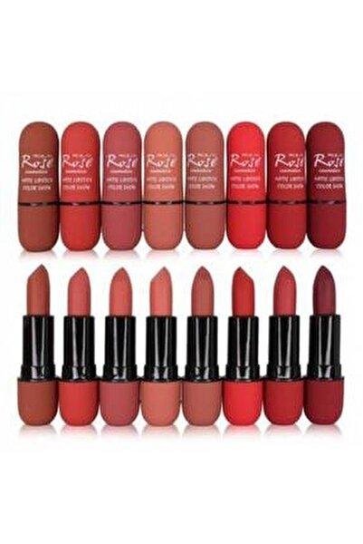 Matte Lipstick Color Show 8 Li Ruj Seti