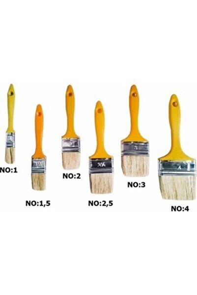 Doğuş Plastik Saplı Kestirme Fırçası No:1