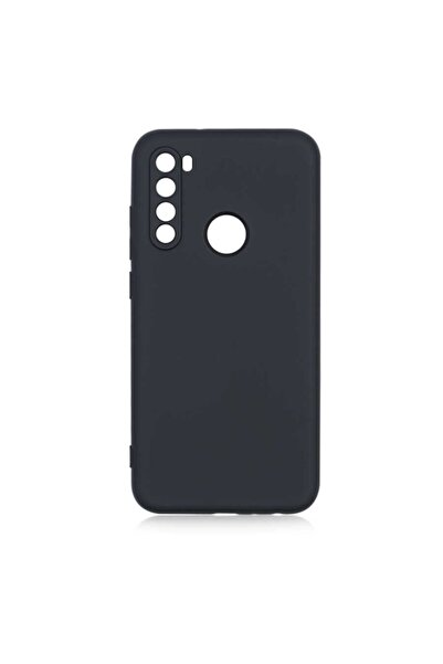 Xiaomi Redmi Note 8 Uyumlu Kılıf Kadife Iç Yüzey Yumuşak Dokulu Kamera Korumalı Silinebilir Ince Silikon