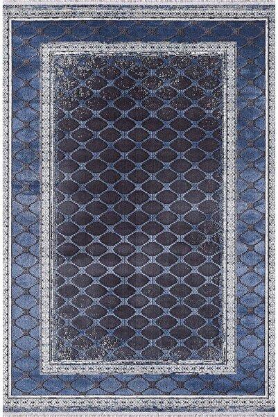 Pierre Cardin Halı Gloria Xg01c Antrasit Lacivert Modern Desen Halı
