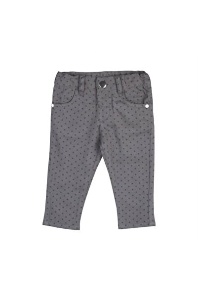 Bebepan Kız Bebek Nordic Gbrdn Pantolon Gri