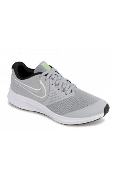 Nike Star Runner 2 Unisex Gri Koşu Ayakkabısı Aq3542-005