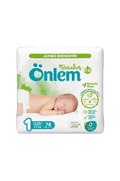 ÖNLEM Botanika Bebek Bezi Jumbo Paket Newborn 78 Adet (2 - 5 kg)