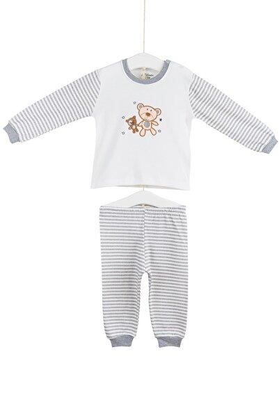 Aziz Bebe Bebek Pijama Takımı 6-24 Ay Azz009425