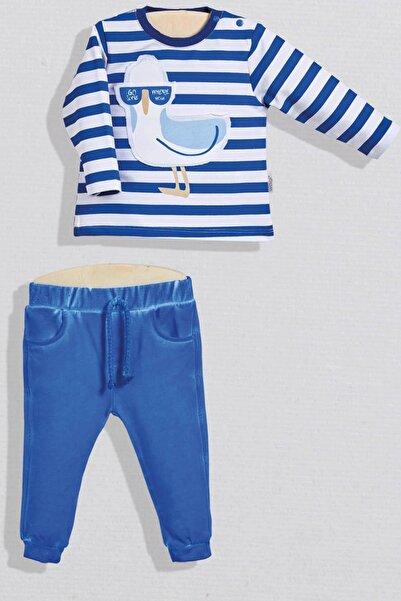 Wogi Bebek Sweatshirt Pantolon 2li Takım 3-36 Ay Wg20s-5507