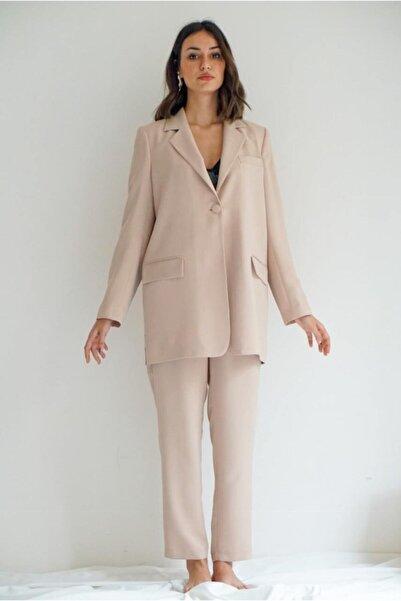 Say Arkası Kız Yüzlü Baskılı Ceket