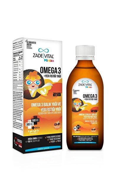 Zade Vital Miniza Omega-3 Balık Yağ Ve Yer Fıstığı Yağı 150 ml