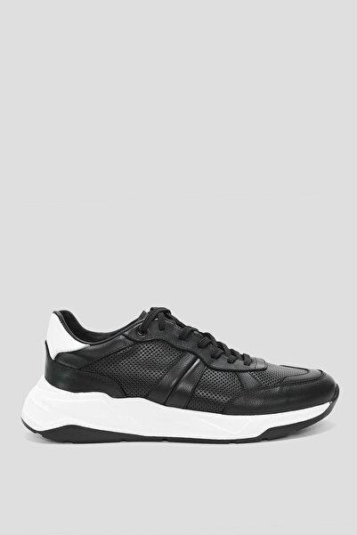 Lufian Brezza Deri Casual Ayakkabı Siyah