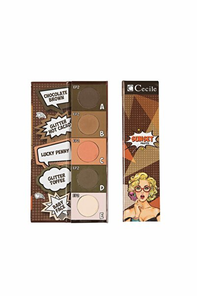 Cecile Eyeshadow Palette Far Paleti Ep2
