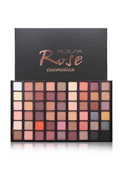Roesıa Rose Cosmetics 54'lü Mat-sedef Far Paleti