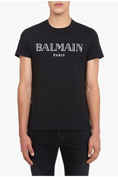 BALMAIN Parıs Logo Print T-shirt
