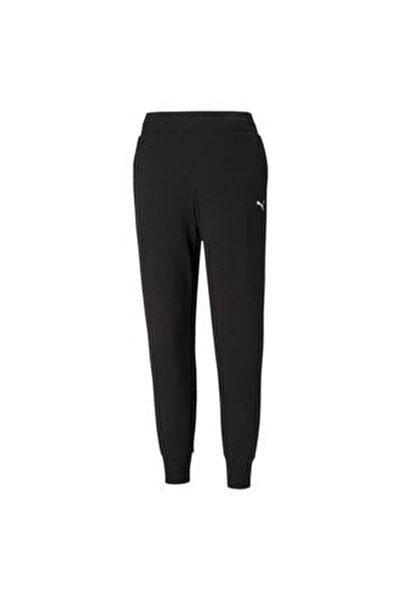 Ess Sweatpants Tr Cl Kadın Eşofman Alt Black-cat 586842-51