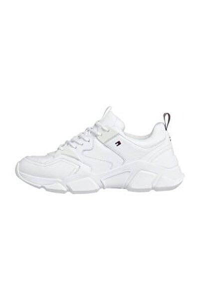Kadın Beyaz Sneaker Chunky Classic Tommy Sneaker FW0FW05017