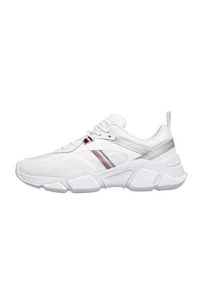 Tommy Hilfiger Kadın Beyaz Sneaker Technıcal Chunky Tommy Sneaker FW0FW04996