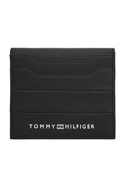 Tommy Hilfiger Erkek Siyah Cüzdan Intarsıa Ns Cc Wallet AM0AM06313