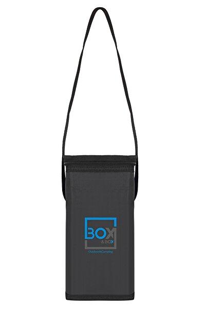 Box&Box 6 Lt Thermo Bag - Termal Korumalı (sıcak/soğuk) Siyah Seyahat, Kamp Ve Piknik Çantası