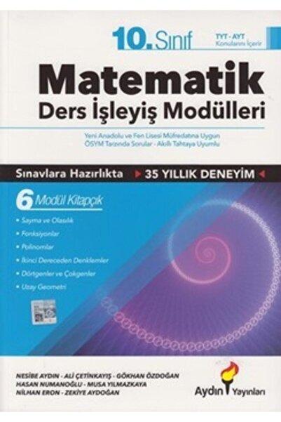 Aydın Yayınları 2021 10.Sınıf Matematik Ders İşleyiş Modülleri