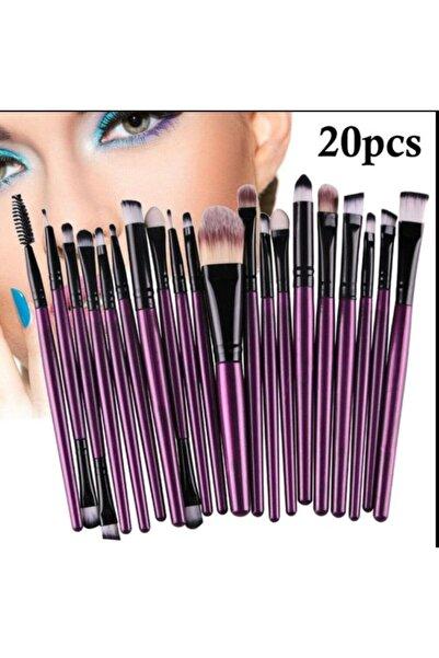 naox Farklı Farklı Fırça Seti-mor 20 Li Paket